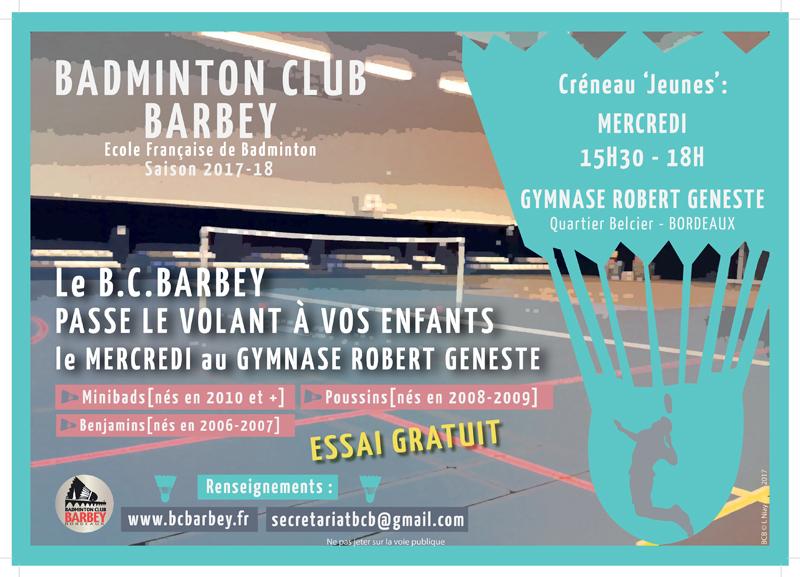 Flyer, Affiche - BcBarbey