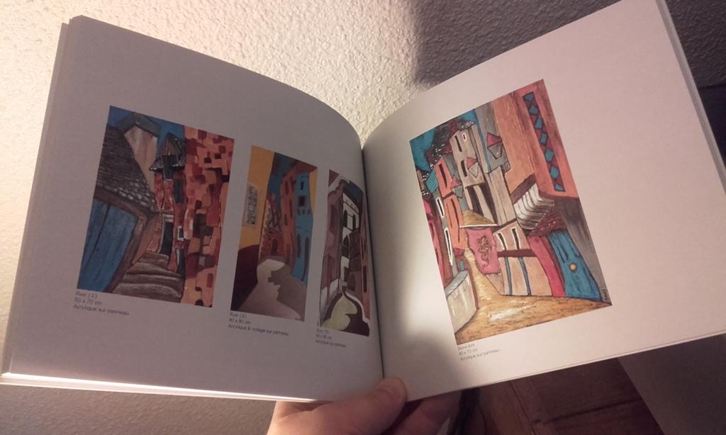 Book / Communication artiste - Nadine Moussy